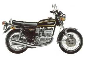 スズキGT380(1972年)